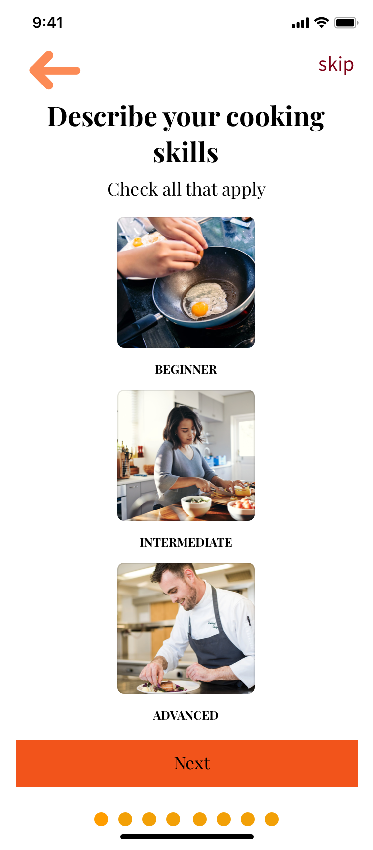 describe-your-cooking-skills